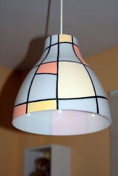 diy romantische doiley lampe ikea hack kreativfieber t ren und bastelideen. Black Bedroom Furniture Sets. Home Design Ideas