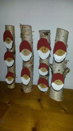 kabouters op berkenhout