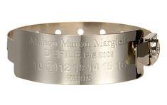 maison martin margiela, hospital tag bracelet, 2011