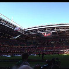 Wales v Italy - Millennium Stadium, Cardiff Millennium Stadium, Visit Uk, Cardiff, Wales, Italy, Sports, Hs Sports, Italia, Welsh Country