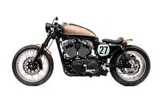 Harley Davidson Sportster 1200 Bobber by Deus Ex Machina #motorcycles #bobber #motos | caferacerpasion.com
