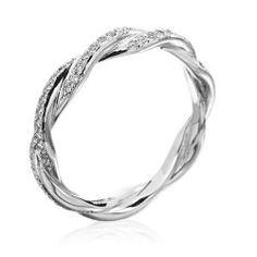 Michael B. - Infinity Platinum Diamond Wedding Band