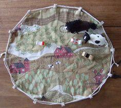 Farmyard bag and mat 003 by Soozs, via Flickr