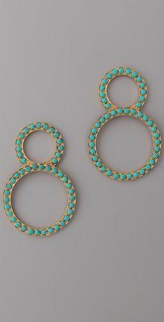 MELINDA MARIA Infinity Earrings
