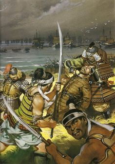 Mongol invasion of Japan by Angus Mcbride