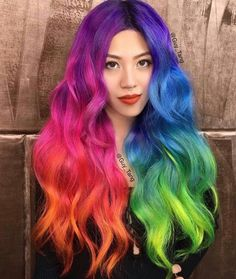 guy_tang rainbow hair