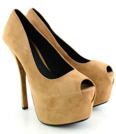Complete you look with these sweet peep toe sandals. These shoes are a definite show stopper.