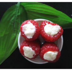 Raspberry Sandesh -- delicate and delectable #indian_sweets #mithai