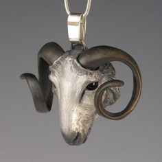 Ram – Handcrafted Silver and Bronze Jewelry