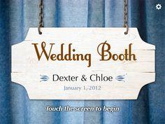 Wedding booth with an iPad?