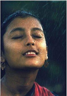 'Monsoon Girl' photo by Brian Brake - India