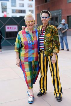 Gai & Rhonda, Advanced Style blog by Ari Seth Cohen