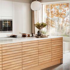 Nordic Spirit Natur Eg Kitchen Room Design, Kitchen Wall Art, Home Decor Kitchen, Nordic Kitchen, Scandinavian Kitchen, Home Interior, Kitchen Interior, Bedroom Vintage, Home Cooler