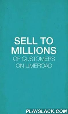 LimeRoad Seller App  Android App - playslack.com ,  Create your online store free with the LimeRoad Seller App in just a minute. This is your chance to be on LimeRoad.com and sell your products online to millions of customers across India. With so many apps flooding in the online space like Snapdeal Seller App, Flipkart Seller App, Amazon Seller App, Paytm Seller App and others, Limeroad has come up with a user-friendly and innovative app- Limeroad Seller App. Upload your products/catalog…