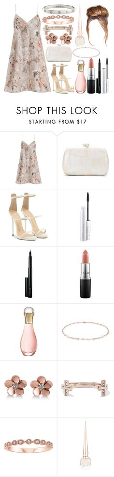 """50"" by unicorniamale ❤ liked on Polyvore featuring Zimmermann, Serpui, Giuseppe Zanotti, MAC Cosmetics, Christian Dior, Anne Sisteron, Allurez, Givenchy, Christian Louboutin and Cartier"