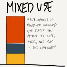 Mixed use is all about the community. #AREsketches