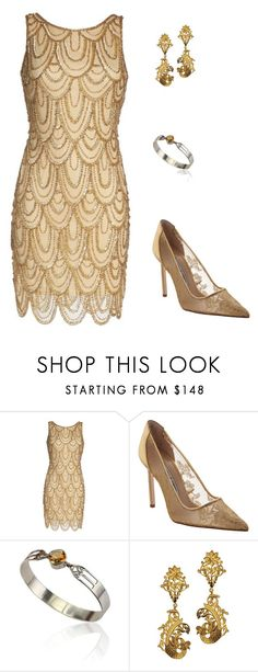 """""""Sunday Morning"""" by carlafashion-246 ❤ liked on Polyvore featuring Pisarro Nights and Manolo Blahnik"""