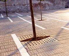 Zucchi - Spazio pubblico pedonale a Cerea