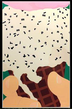 Herman Miller Summer Picnic Poster 1983