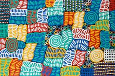 Betty Mbitjana | Bush Melon @ Spirit Gallery (Aboriginal art)