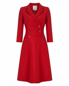 Phase Eight Dress Eight Red