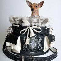 the audrey handbag carrier by kiki hamann
