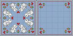Biscornu Cross Stitch, Cross Stitch Love, Cross Stitch Cards, Cross Stitch Borders, Cross Stitch Animals, Cross Stitch Flowers, Cross Stitch Designs, Cross Stitching, Cross Stitch Embroidery