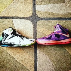 "Lebron 12 vs Lebron X ""All Star Game"""