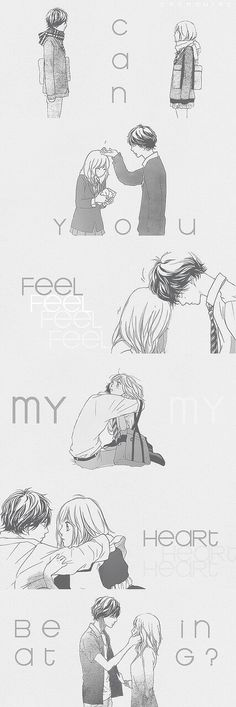 Uploaded by Sarah. Find images and videos about anime, romance and ao haru ride on We Heart It - the app to get lost in what you love. Manga Anime, Anime Art, Manga Love, Anime Love, Kawaii Anime, Manhwa, Futaba Y Kou, Blue Springs Ride, Anime Qoutes