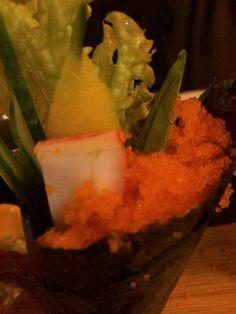 Fish eggs, sushi