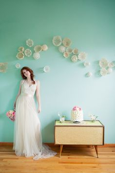 Doily backdrop .... link to tutorial