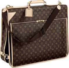 louisnvuitton luggage   This Louis Vuitton 's versatile garment bag features two spacious ...