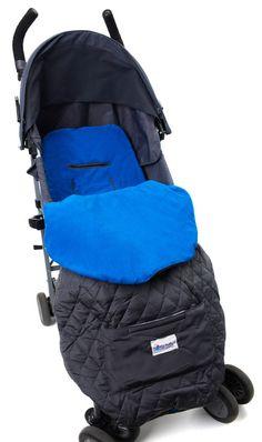 Blue Toddler Cozy Stroller Blanket