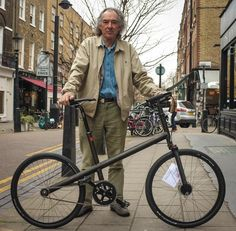 """A beautiful prototype fixed 24"""" wheel bike with single forks. On sale at Bikefix.co.uk for £1500. I saw this today. Inspiring."""