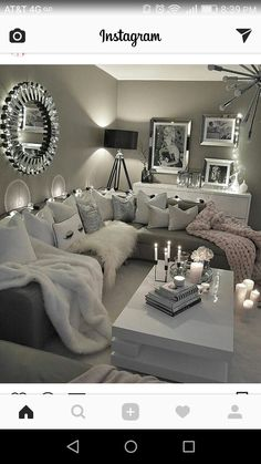 60 affordable apartment living room design ideas on a budget 52 Home Living Room, Room Design, Home, Living Room Decor Apartment, Apartment Living Room, House Rooms, House Interior, Apartment Decor, Living Decor