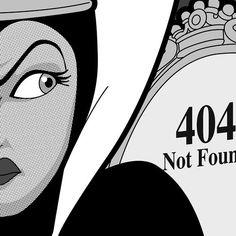 Harumph. Evil Queen 404 Not Found