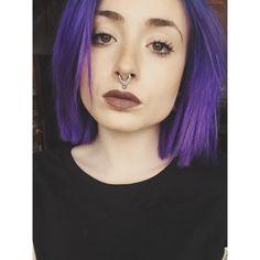 Instagram:   roxyy_holden   Manic Panic, Ultra Violet.