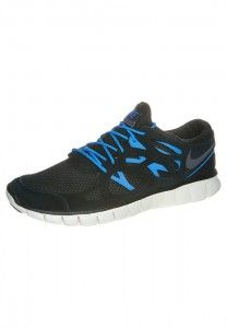 Nike Free Chaussure Running 5.0+ Homme Noir/Blanc
