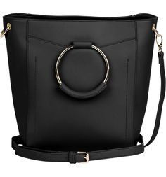 368235e6dddd Luminescent Vegan Leather Crossbody Bag