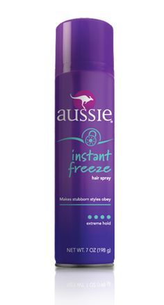 Keeps those bangs in place all day. Nothing I have tried works better and love the smell of Aussie products. Instant Freeze Hair Spray (Aerosol)