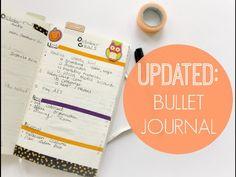 Bullet Journal Setup Update: Organize To-Do Lists + Plan Ahead!