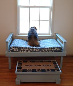 Window seat Pet bed.