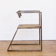 Brass Planar Armchair from Nube Green