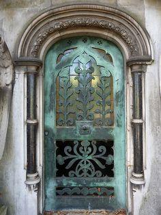 door, Brompton Cemetery, SW10 | Flickr - Photo Sharing!