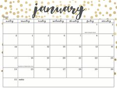 Oh So Lovely Blog: Free Printable 2016 Calendars 20+ Options!