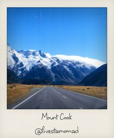 Driving to Mount Cook by fivestarnomad, via Flickr