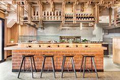 Friday night sake @y14sandringham our recently completed Japanese restaurant @arihatzis . . . #y14sandringham #biasol #design #interior #architecture #branding #products #furniture #japan #dineinstyle #restaurant #bar #sakebar #australiandesign #australianarchitecture #sandringham #fitout #sushibar #melbourne #japanesestyle #tokyo