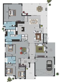 My dream home with a few small changes