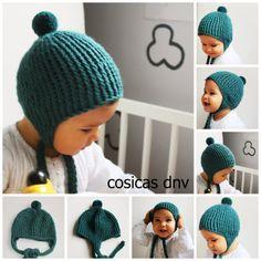 Gorro pto dori pp Knitting For Kids, Baby Knitting, Diy Crochet, Crochet Baby, Knitting Patterns, Crochet Patterns, Little King, Best Baby Gifts, Kids Hats