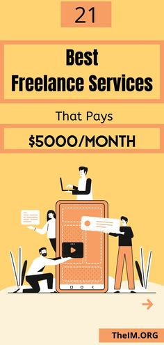 Get the list of 21 highly paid freelance services. You will learn the complete guide to get the freelance job easily and start making passive income. Make Easy Money Online, Way To Make Money, Earn Money From Surveys, Online Income, Online Jobs, Affiliate Marketing, Content Marketing, Internet Marketing, Home Based Business